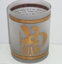 Elvis Presley Glass Graceland Drinking Still Rockin 20th Anniversary of ... - $29.95
