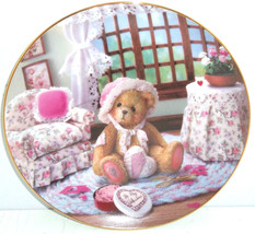 Cherished Teddies Collector Plate Valentines Fo... - $49.95