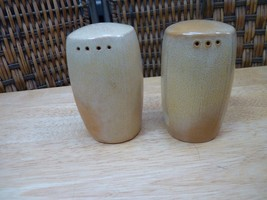 Frankoma Plainsman Desert Gold Salt and Pepper Shakers - $14.85