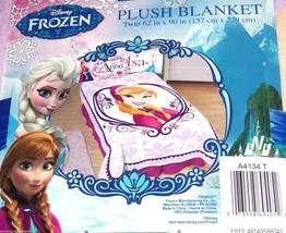 Disney Frozen Anna Blanket Twin Size Plush New - $49.95