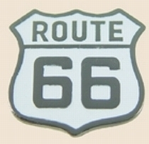 12 Pins - ROUTE 66 , highway hat tac lapel pin sp076