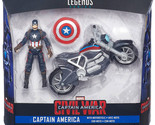 Marvel Legends Series Captain America Motorcycle Action Figure Detailed FUN NEW
