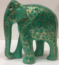 Hand Crafted Wise Elephant Sculpture - $29.69