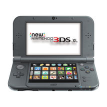 New Nintendo 3DS XL (New Black) - FACTORY REFURBISHED. Colors Black or Red - $265.00