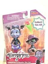 Disney Jr Vampirina  & Phoebe the Cat Poppy Dolls Figures - $9.89