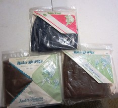 VINTAGE RAIN BONNETS WITH VISORS - NEW IN PACKAGE - $22.20