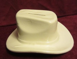 VINTAGE HAEGER WESTERN COWBOY HAT BANK - UNIQUE - $19.21