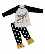 Unique Baby Girls Miss New Year Outfit (7/XXL, Black) - $19.99
