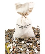 Unsearched World Coins Lots (1lb) Mixed Foreign Coin by Weight, Full Pound - $11.83