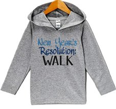 Custom Party Shop Baby Boy's New Years Resolution New Years Eve Hoodie Pullov... - $22.05
