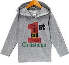 Custom Party Shop Baby's 1st Christmas Hoodie 18 Months Months - $22.05