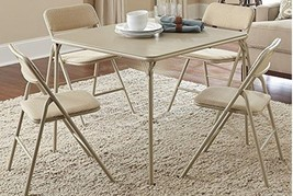 Folding card table and chairs use thumb200