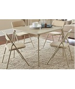 Folding Table and Chair Set Living Room Furniture Patio Entertainment Se... - $138.49