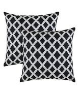 TreeWool, Supreme Soft Cotton Herringbone Fabric Lattice Accent Decorati... - $15.99
