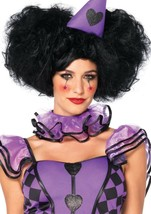 Black Bob Wig with Optional Side Puffs and Wig by Leg Avenue™ - $35.18
