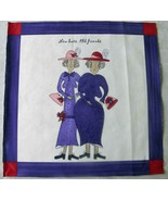 Red Hat Ladies...New Hat...Old Friends...Quilt Squares by Sandy Gervias - $20.00