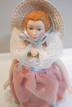Avon Fashion of American Times Porcelain Doll Collection Southern Belle ... - $10.36