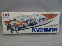 Vintage Tamiya 70027 Power Boat Set Plastic Battery Powered Model Boat - $25.00