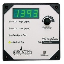 Grozone SCO2 - Single output CO2 Controller 0-5000 ppm - $397.91