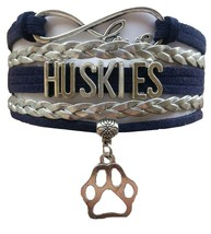 University of Connecticut UCONN Huskies Fan Shop Infinity Bracelet Jewelry - $12.99