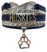 University of Connecticut UCONN Huskies Fan Shop Infinity Bracelet Jewelry - $12.99
