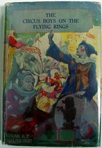 Circus Boys on the Flying Rings hardcover with dust jacket Saalfield Pub... - $20.00