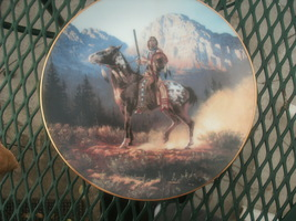 HAMILTON COLLECTION COLLECTOR PLATE=TOP GUN FROM THE MYSTIC WARRIORS COL... - $5.50