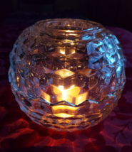 Beautiful, Quality, Homco 3 Piece Glass Candle Holder (candle not included) - $48.00