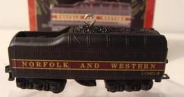 Tender Lionel 746 Norfolk and Western Hallmark Keepsake Ornament & Box 1999