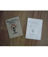 """WWI songbooks """"Doughboy Ditties"""" by Brainless Bates; & """"Songs the Soldie... - $25.00"""