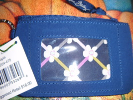 Vera Bradley Blue ID Holder with Key Ring NWT - $17.00