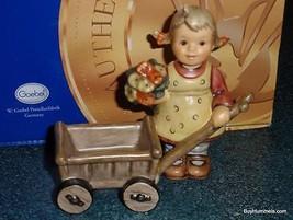 """Surprise Visit"" Goebel Hummel Figurine #2013 TMK8 Christmas Gift With Box! - $213.39"