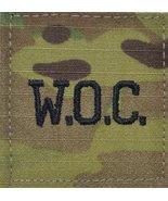 Multicam OCP Rank Insignia Fastener - Warrant Officer Candidate WOC - $2.70