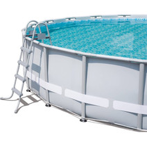 "Bestway Power Steel 14' x 42"" Frame Swimming Pool Set - Ready to Ship image 6"
