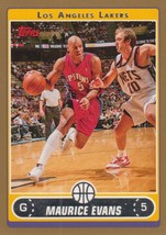 Maurice Evans 2006-07 Topps Gold Parallel Card #60 407/500 - $0.99