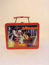 1999 Walter Lantz Metal Woody Woodpecker Guess Who Tin Lunchbox (No Ther... - $37.39