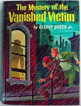 Mystery of the Vanished Victim #2 Ellery Queen Jr. 1st Edition 1st Print... - $16.00