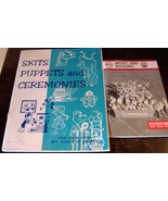 Boy Scout Leader Books Skits Puppets Pow Wow Se... - $19.78