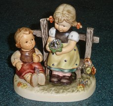 """Butterfly Wishes"" Goebel Hummel Figurine #2284 TMK8 Christmas Gift With Box! - $475.29"