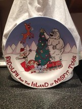 Rudolph The Island of Misfit Toys Cookies for Santa Collectible Plate Ne... - $22.99