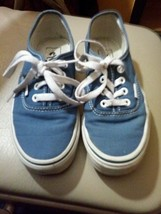Vintage Vans off the wall tennis skater deck shoes  - $14.03