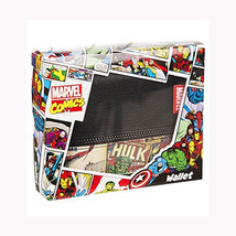 Marvel Comics Retro Comic Strips Print Bi-Fold Wallet With Outside Zippe... - $18.37