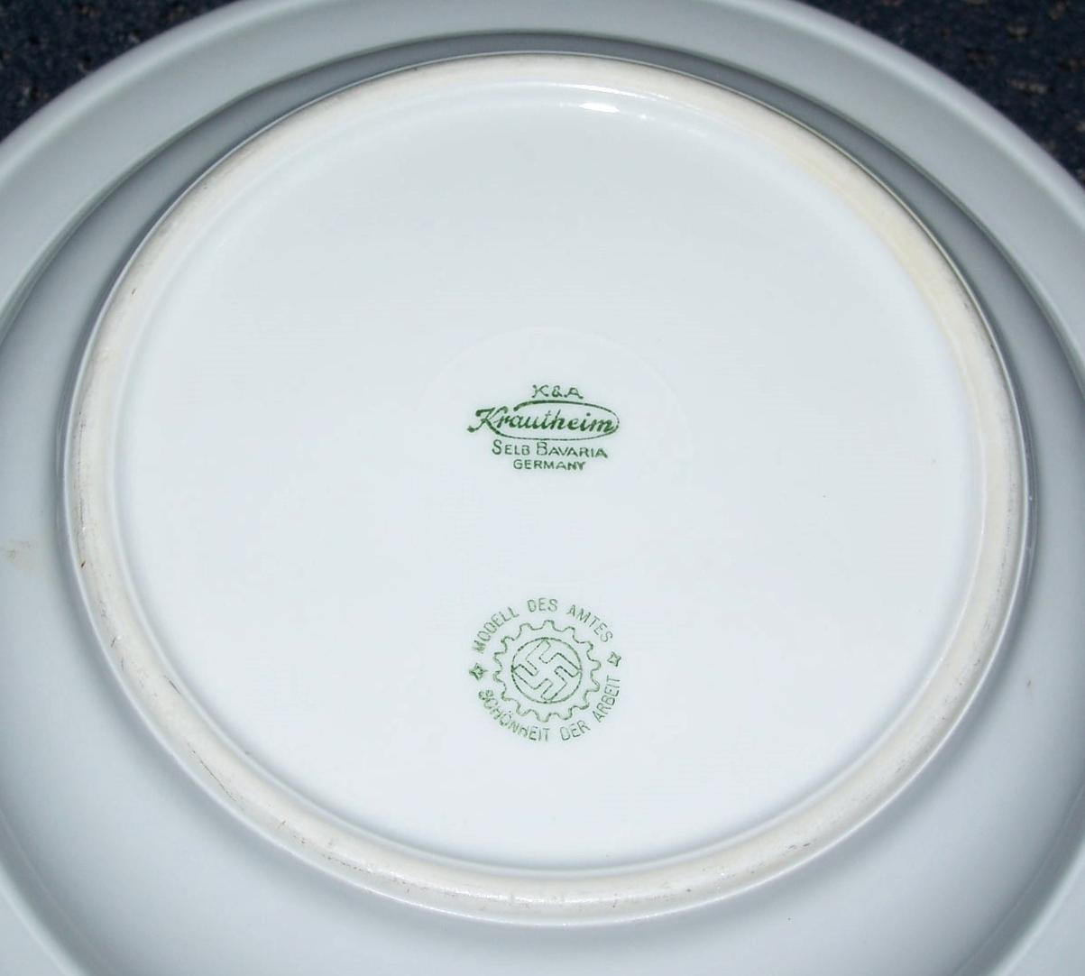 Rare Original WW2 Nazi D A F  Porcelain Soup and 50 similar
