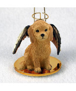 GOLDENDOODLE ANGEL DOG CHRISTMAS ORNAMENT HOLIDAY Figurine Statue - $12.38