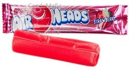 Airheads STRAWBERRY 36 pack Strawberry Airheads taffy Airhead bulk candy... - $7.97