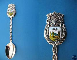 VIENNA AUSTRIA Souvenir Collector Spoon Collectible WIEN Stephens Cathedral - $6.95