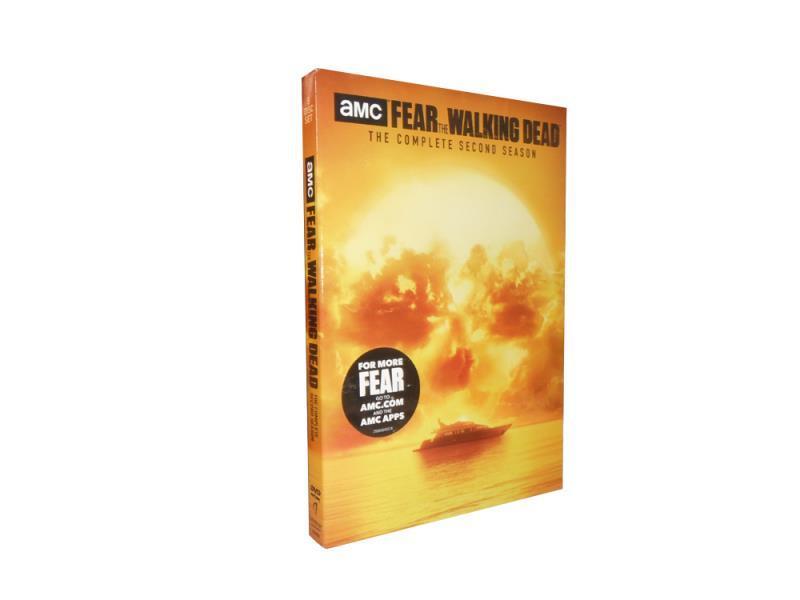 Fear the Walking Dead Complete Seasons 1-2 1.2 DVD Box Set 6 Disc Free Shipping