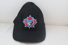 Toronto Blue Jays Hat (Retro) - Black with Alternate Logos - Adult Flex Fit - $65.00