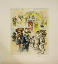 """Ira Moskowitz """"Turning Away"""" - S/N Etching - Re... - $150.00"""