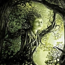 Delightful Dryad Introduces Hidden Beauty, Secret Worlds & Fairy Friends haunted - $60.00